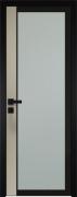 Межкомнатная дверь ProfilDoors 6AGK Черный Мателюкс б.цв.