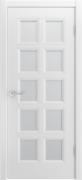 Межкомнатная дверь Bellini 777 Цвет:эмаль белая Тип:со стеклом