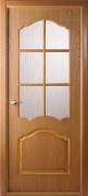 Дверь шпонированная BELWOODDOORS Каролина Цвет:Дуб радиал Тип:Со стеклом
