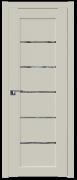 Дверь ProfilDoors Серия U модель 2.76U Цвет:Магнолия Сатинат Остекление:Дождь белый