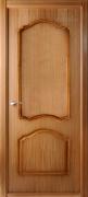 Дверь шпонированная BELWOODDOORS Каролина Цвет:Дуб радиал Тип:Глухая