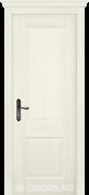 Дверь Verona 4 массив дуба DSW слоновая кость глухая