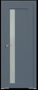 Дверь ProfilDoors Серия U модель 2.71U Цвет:Антрацит Остекление:Стекло матовое