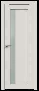 Дверь ProfilDoors Серия U модель 2.71U Цвет:Дарквайт Остекление:Стекло матовое