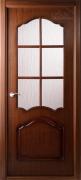 Дверь шпонированная BELWOODDOORS Каролина Цвет:Орех Тип:Со стеклом