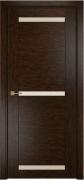 Межкомнатная дверь Оникс Тектон 3 Цвет:Серый дуб Остекление:Сатинат бронза