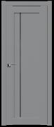 Дверь ProfilDoors Серия U модель 2.70U Цвет:манхэттен Остекление:Графит