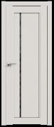 Дверь ProfilDoors Серия U модель 2.70U Цвет:Дарквайт Остекление:Дождь черный
