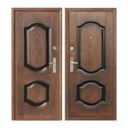 Дверь входная, эконом, K550-2, 960х2050 мм, левая