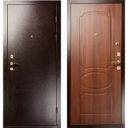 Дверь Гранит Ультра 7 Грецкий орех 980 x 2080 петли справа