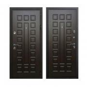 Дверь металлическая НЕО Гладиатор 96 см R венге