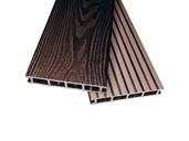 Террасная доска двухсторонний Комфорт крупный вельвет с брашингом/текстура дерева венге 25х145х6000 мм (0.87 кв.м.)