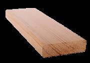 Полок канадский кедр светлый сорт Ex, длина: 1.83-3.96 м