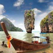 Фотообои «Остров в Азии»