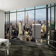 ARD Фотообои Maximage «Вид с Бруклинского моста в Нью-Йорке»