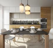 Кухонный фартук АБС Мегаполис (600*3000*1,5мм) STELLA