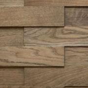 Деревянные 3D-панели Difard 3D Дуб Charbon (Угольный) (300-700) x 95 x 4/6/8 мм (арт. 3521-1107, сорт Комфорт) масло с воском