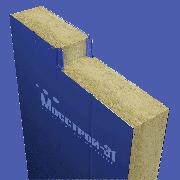 Сэндвич панель стеновая Мосстрой-31 СП-250(М) RAL 9003/9003 0,5/0,5 мм 1190 мм
