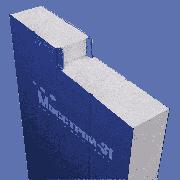 Сэндвич панель стеновая Мосстрой-31 СП-100(П) RAL 9003/9003 0,5/0,5 мм 1190 мм