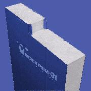 Сэндвич панель стеновая Мосстрой-31 СП-250(П) RAL 9003/9003 0,5/0,5 мм 1190 мм