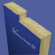 Сэндвич панель стеновая Мосстрой-31 СП-120(М) RAL 9003/9003 0,5/0,5 мм 1190 мм