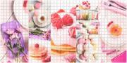 """Стеновая панель ПВХ """"Завтрак"""" 480х957х0,3мм (10 штук)"""