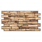 Стеновая панель ПВХ, Сланец натуральный, 980*500 мм, 5 шт