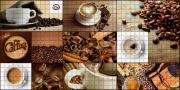 "Стеновая панель ПВХ ""Кофейня"" 480х957х0,3мм (10 штук)"