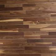 Деревянные панели Panaget (Панаже) Американский орех двухполосные 2005 x 141 x 10 мм (коллекция CBM Duo 141, арт. 1001162, сорт Традиция) масло с воском