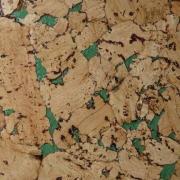 Пробковое настенное покрытие Corksribas 600х300 мм Condor green