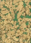 Настенная клеевая пробка IberCork, Лерида Верде (600х300х3 мм) упак. 1,98 м2