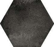 Керамогранит Equipe Urban Hexagon Melange Dark 23604 29,2x25,4