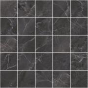 Декор Laparet Total Мозаичный Чёрный MM34108 25х25