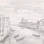 Декор Kerama Marazzi Панно Город на воде Venice панно (3 части) 75х75