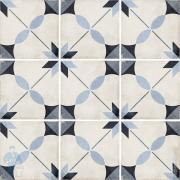 Керамогранитная плитка EQUIPE ART NOUVEAU Arcade Blue (200х200) голубая (кв.м.)