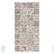 Керамогранитная плитка Sant Agostino Magnolia Bianca (150х150) многоцветная (кв.м.)