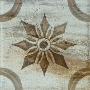 Декор KERAMA MARAZZI Довиль 5 (98х98) голубой VT\B226\1146 (шт.)