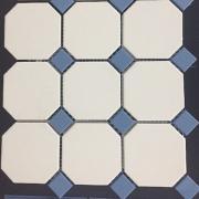 Керамический гранит TOPCER Octagon на сетке 30x30 см