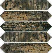 Керамическая плитка Dune Crackle 187780 Decor Metal настенная 6,5х33