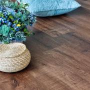 Напольные покрытия Каменно-полимерная плитка Alpine Floor - Real Wood Дуб Мокка