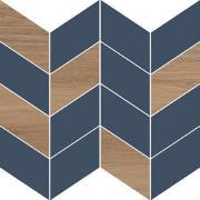Декор Meissen Вставка Love You Navy мозаика B сатиновая синий 29x29