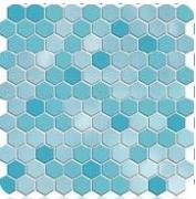 СЕРАБЕЛЛА - Шестигранная VERSICOLOR 2,65 SERAPOOL /голубой/, м2