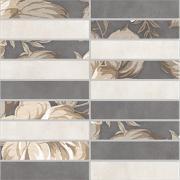 Керамическая плитка LB-Ceramics Fiori Grigio 1932-0012 мозаика настенная 30х30