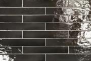 Керамическая плитка Equipe Manacor 26926 Black настенная 6,5x40