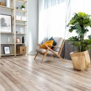 Напольные покрытия Каменно-полимерная плитка Alpine Floor - Real Wood Дуб Carry