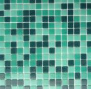 JNJ mosaic Стеклянная мозаичная смесь JNJ 20х20, 327х327 EV203