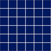 Фарфоровая мозаика SERAPOOL 5х5 см /кобальт/, м2