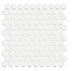 СЕРАБЕЛЛА - Круглая мозаика (диаметр 2,65) SERAPOOL 30 х 30 см /Белый/, м2