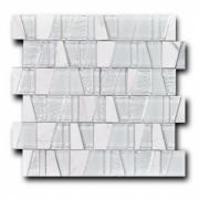 Смесь из стекла и натурального камня Art&Natura Boston Hancock, лист 300x300 мм