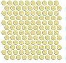 СЕРАБЕЛЛА - Круглая мозаика (диаметр 2,65) SERAPOOL 30 х 30 см /кремовый/, м2
